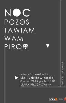 2015-05-08 – Lidia Zdzitowiecka