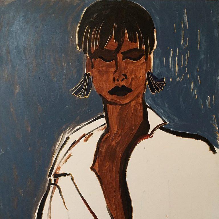 Linda Evangelista by Petro Martyniuk kwadrat