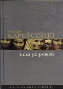 Okładka Busz po polsku