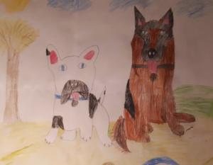 Julka, 9 lat, Przyjaciel GAT