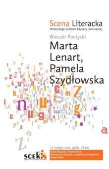 2013-02-27 – Marta Lenart i Pamela Szydłowska