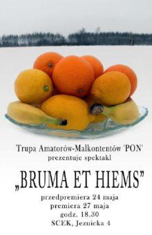 Grupa Twórcza Malkontenci – Bruma et hiems