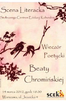 2012-03-14 – Beata Chromińska