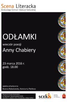 2016-03-23 – Anna Chabiera