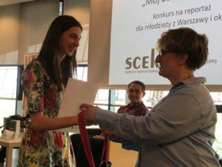 Wręczenie nagród w konkursie edukacyjnym Mój busz po polsku 2