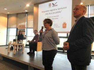 Wręczenie nagród w konkursie edukacyjnym Mój busz po polsku