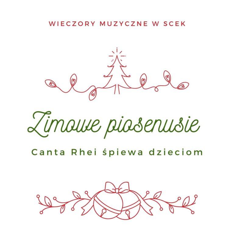 Zimowe piosenusie - Canta Rhei śpiewa dzieciom