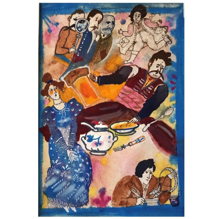 Bożena Truchanowska - Ilustracja. Wystawa w Galerii Brzozowa