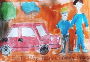Michał Pakuła, Fiat 126 p, SPS nr 177