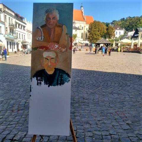 Kazimierz pędzlem malowany PEGAZ