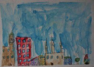 Adam Sobolewski, 8 lat, Ośrodek Działań Twórczych Pogodna, Obserwacja otoczenia. Wyobraźnia własna