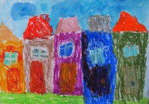 Julia Stefańska, 6 lat, Ośrodek Kultury Dzielnicy Wesoła, Domy w stolicy