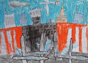 Julian Feliga, 8 lat, Szkoła Podstawowa nr 300, Lubię obserwować samoloty na Lotnisku Chopina