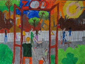 Karolina Sakowska, 7 lat, Szkoła Podstawowa nr 300, Wycieczka do Zoo, Nagroda