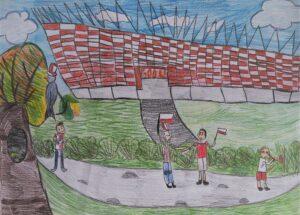 Maja Marusa, 9 lat, Szkoła Podstawowa nr 279, Piłkarska Praga