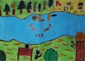 Maria Garczyńska, 9 lat, Szkoła Podstawowa nr 120, Park Skaryszewski