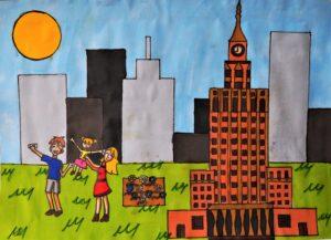 Marta Jaworska, 11 lat, Ośrodek Działań Twórczych Pogodna, Obserwacja swojego otecznia, mojego miasta