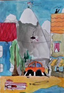 Milena Chodkiewicz, 11 lat, Ośrodek Kultury w Dzielnicy Wesoła