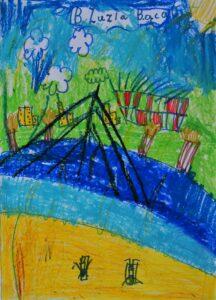 Zuzanna Bącal, 7 lat, Szkoła Podstawowa nr 300, Odpoczynek nad Wisłą.JPG
