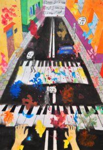 Barbara Kociszewska, 12 lat, Szkoła Podstawowa nr 246, Piosenka Mad world - Gary Jules.