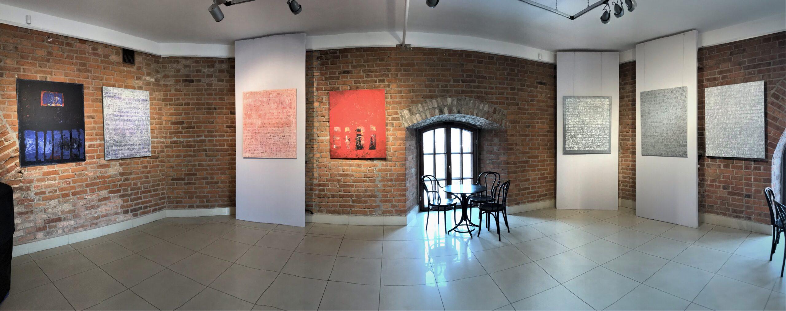 M. Waliszewska-Bendek, Wystawa w Galerii Stara Prochownia