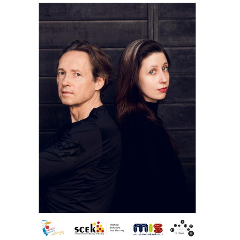 """Ania Diduch oraz Wojtek Wieteska, z którymi przeprowadzono rozmowę w ramach projektu """"Porozmawiajmy (o) pięknie!"""""""