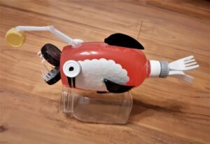 Marcel Mendelewski, 12 lat, Mechaniczna ryba przyszłości, Szkoła Podstawowa nr 209