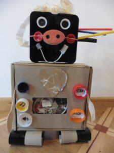 Jagoda Rudy, 7 lat,Robot Florus Szkoła Podstawowa nr 209