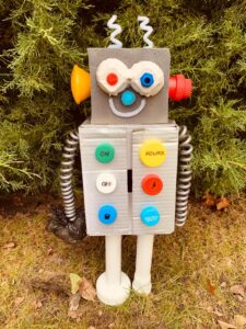 Urszula Kamińska, 9 lat, Robot zbierający śmieci Szkoła Podstawowa nr 86