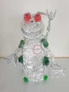Fryderyk Klimczak, 7 lat, Robot Silver Prywatna Szkoła Podstawowa nr 114