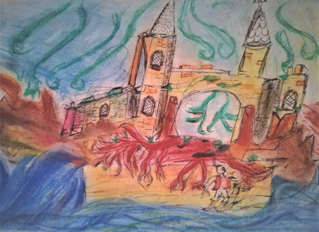 Małgosia Toniszewska, 17 lat, Zamek w sztormie, XII Liceum Ogólnokształcące