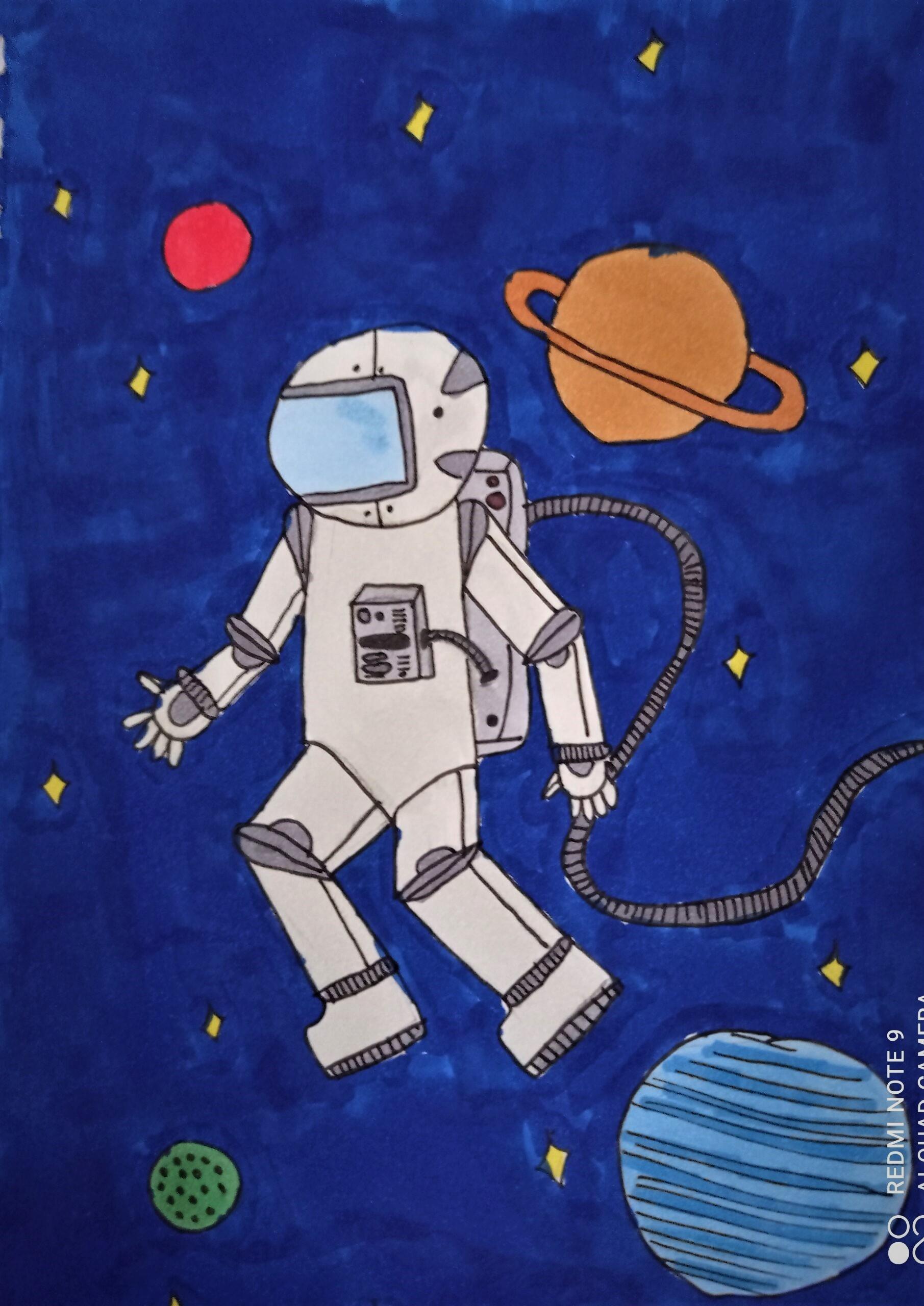 Zofia Wojtowicz, 10 lat, Szkoła Podstawowa nr 400, astronaut