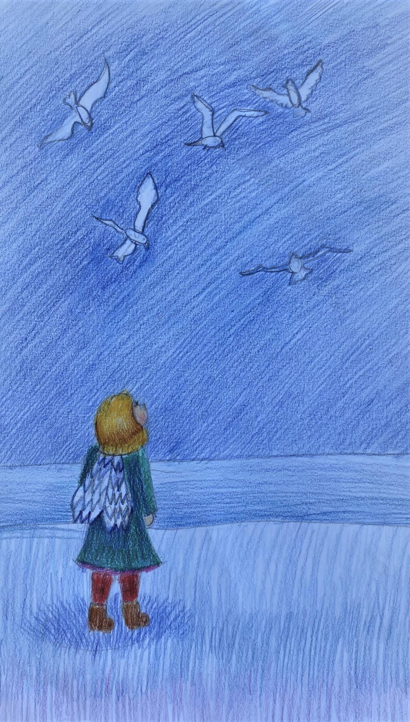 Sofia Prakapenka, Anioł, 7 lat, Szkoła Podstawowa nr 58
