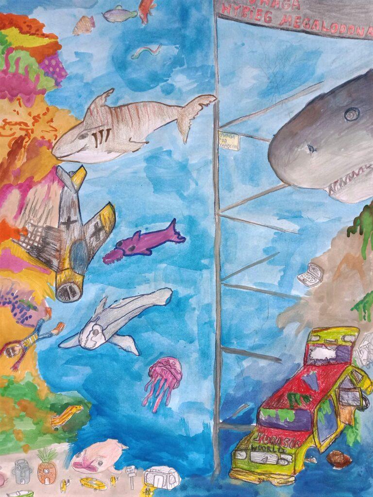 Franciszek Osiał, 11 lat, Szkoła Podstawowa nr 362, Podwodny świat
