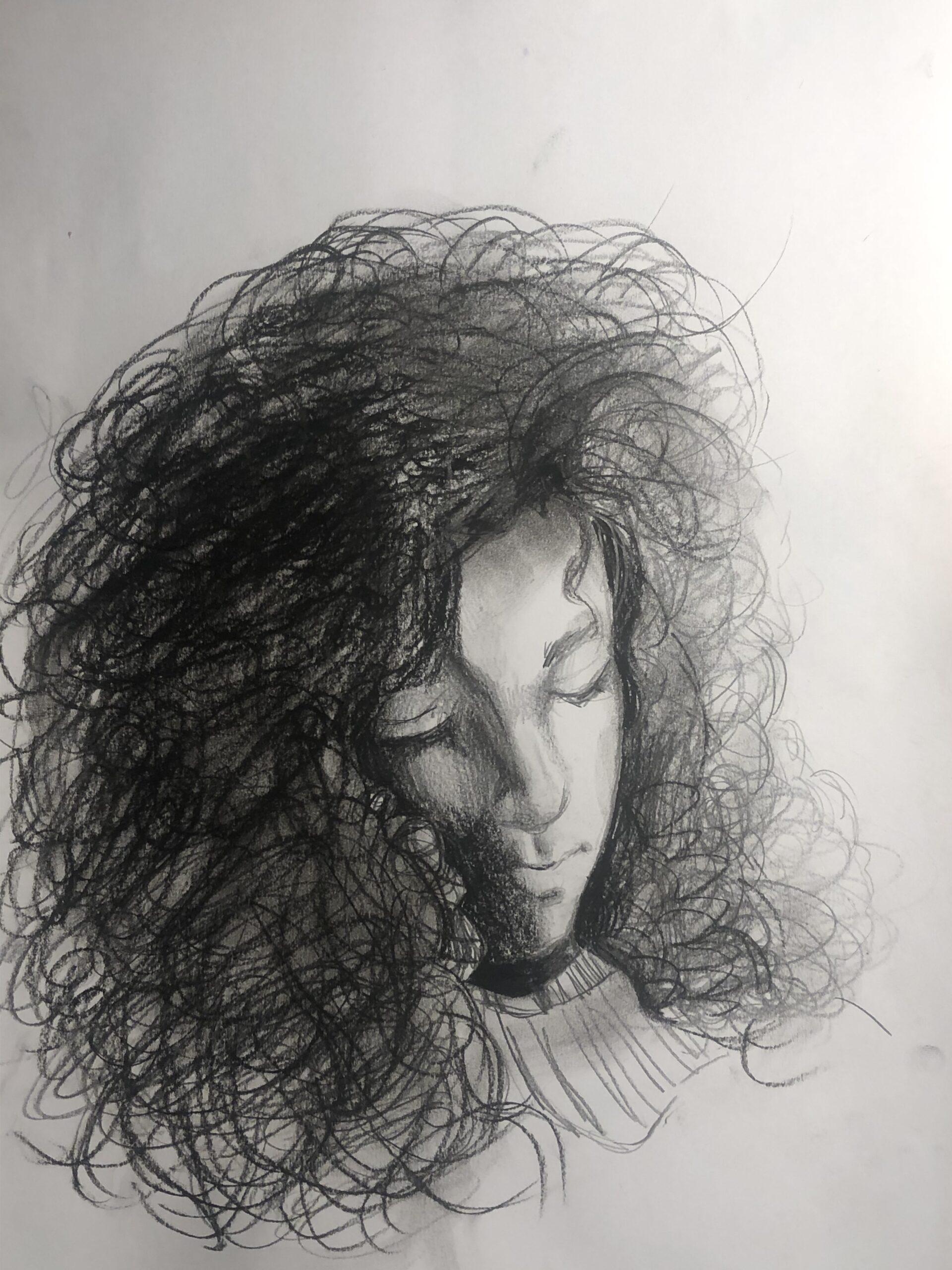 Natasza Normark, 12 lat, Szkoła Podstawowa nr 203, Autoportret