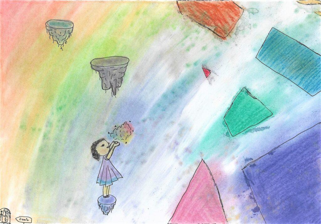 Zofia Aleksandrzak, 10 lat, Jak koloruję świat, Szkoła Podstawowa nr 257