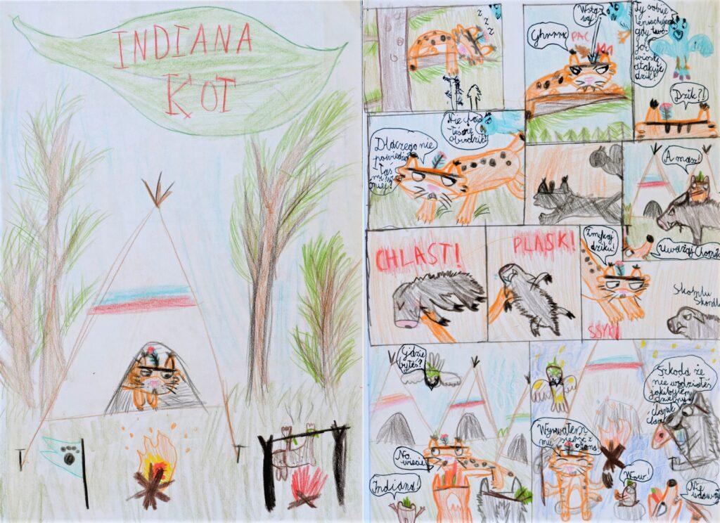 Matylda Paczos, 9 lat, Indiana Kot, Szkoła Podstawowa nr 382