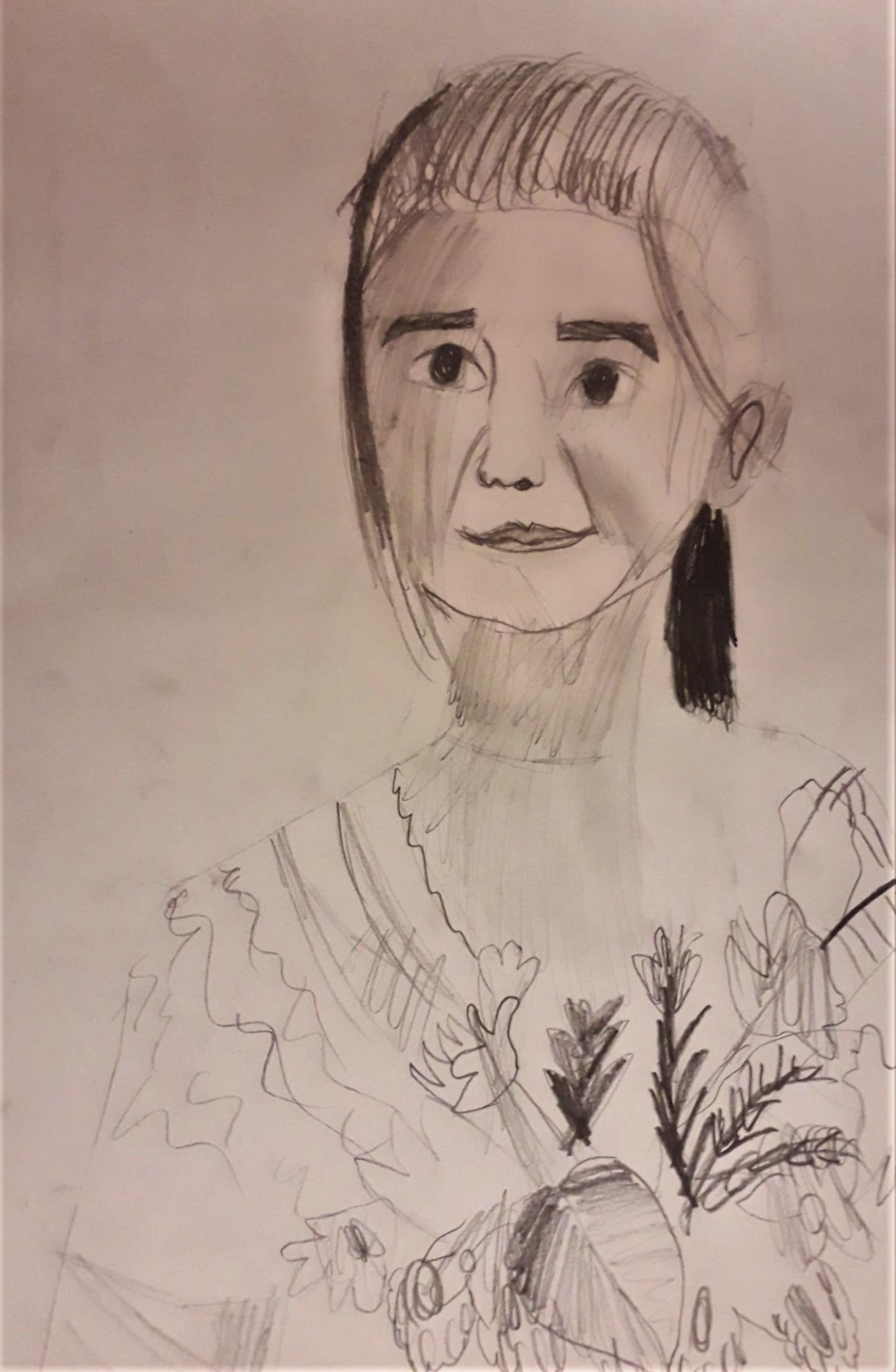 Basia Wójcik, 9 lat, Portret, Szkoła Podstawowa nr 187