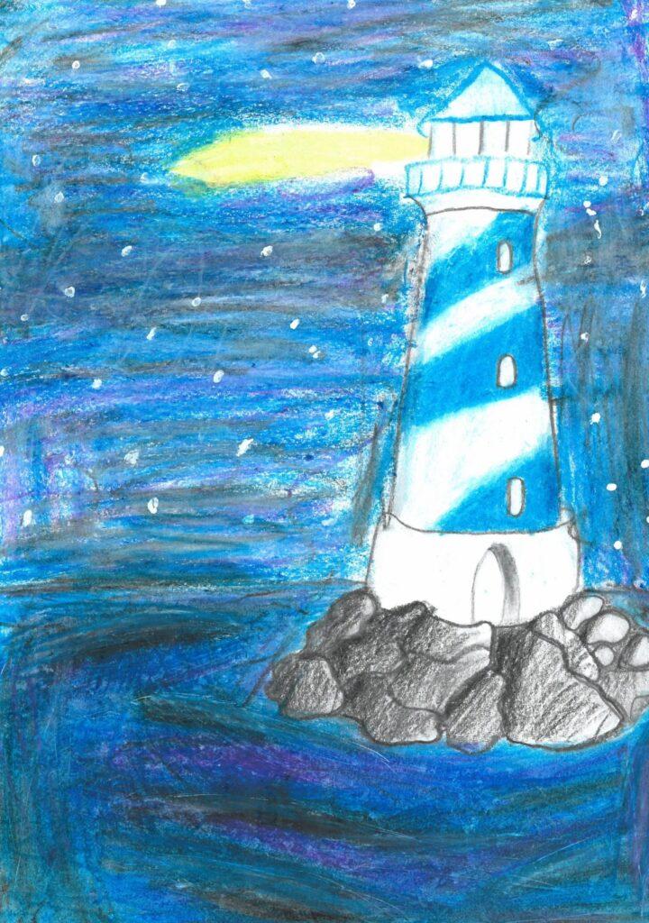 Zofia Twarowska, 10 lat, Latarnia morska we mgle Szkoła Podstawowa nr 373