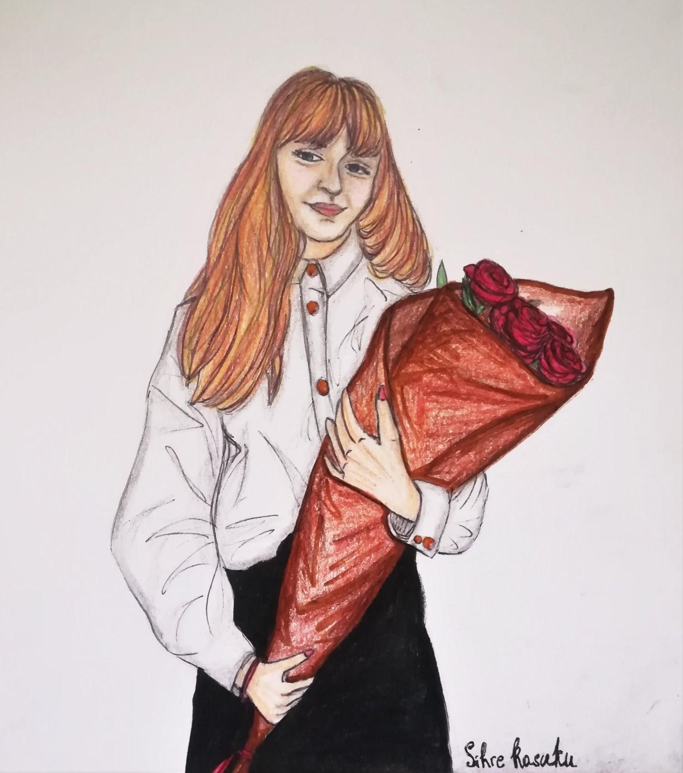Khrystyna Krompashchyk, 16 lat, Szkoła Podstawowa nr 58