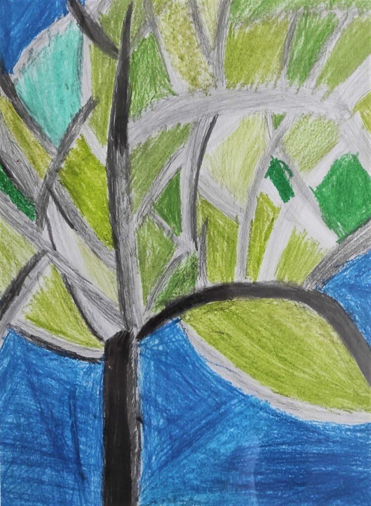 3. Xawery Lipiński, 9 lat, Drzewo po burzy Szkoła Podstawowa nr 29
