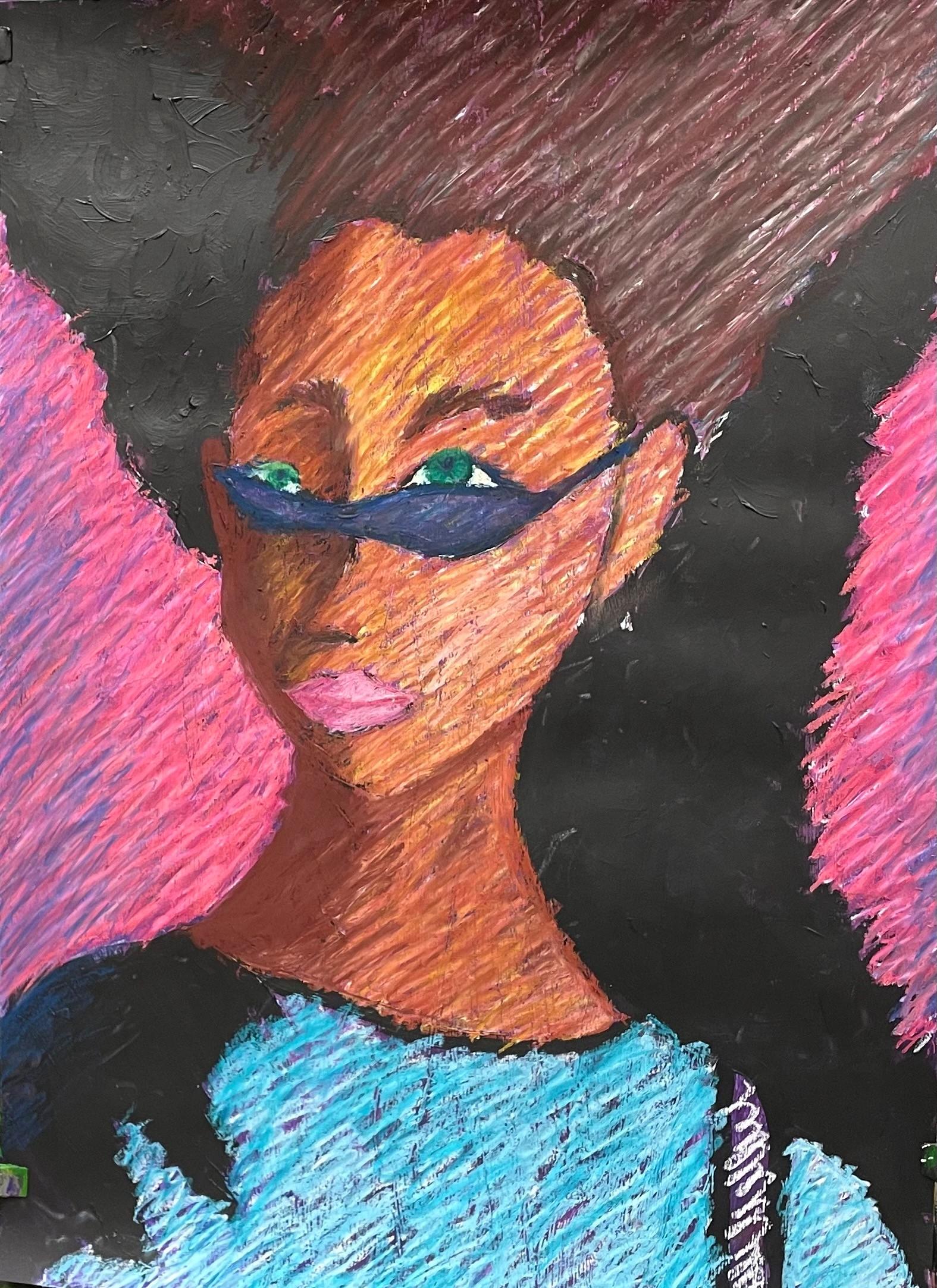 Maja Pociejewska, 11 lat, Szkoła Podstawowa nr 212, Pani w okularach