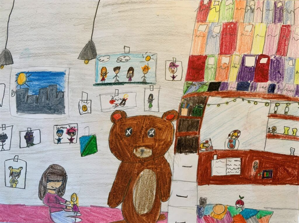 Joanna Skonieczna, 9 lat, Zabawy dziecięce, Ośrodek Pracy Pozaszkolnej nr 4