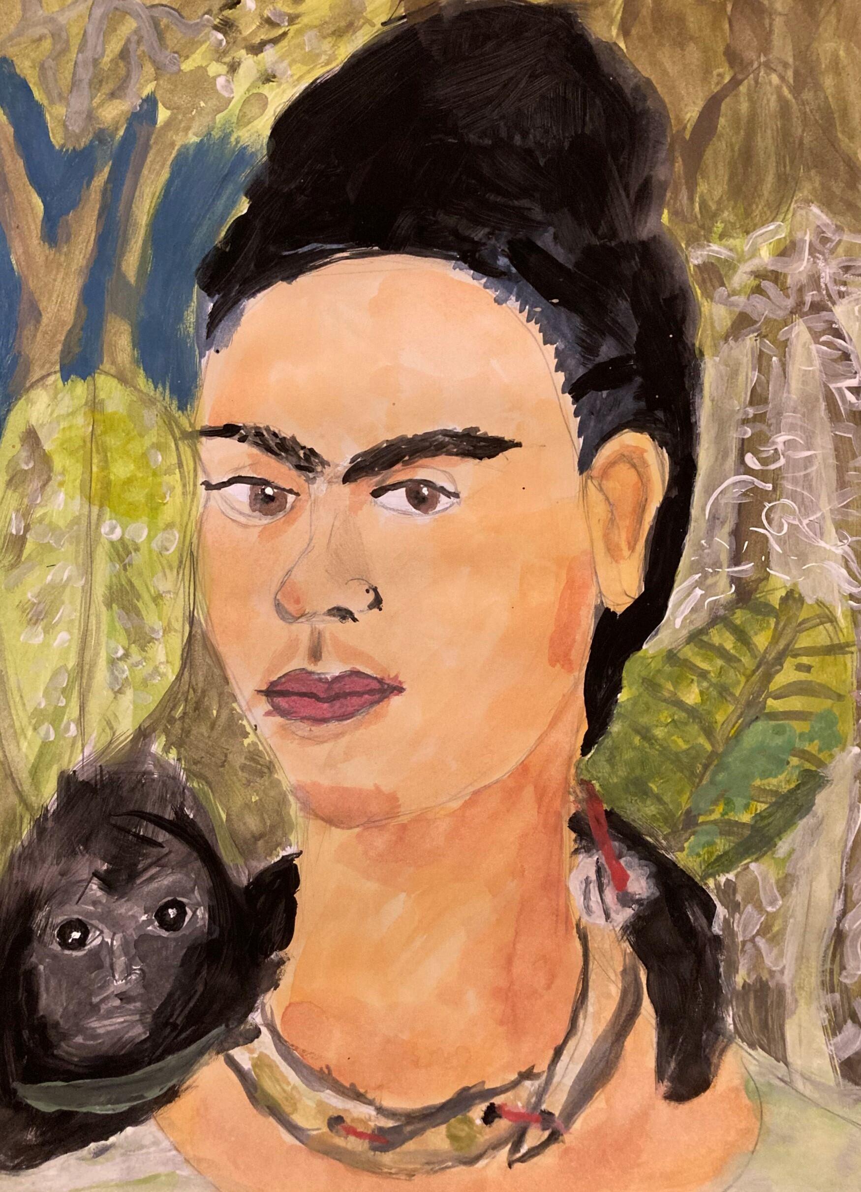 Szczepan Gajda, 10 lat, Szkoła Podstawowa nr 96, Frida