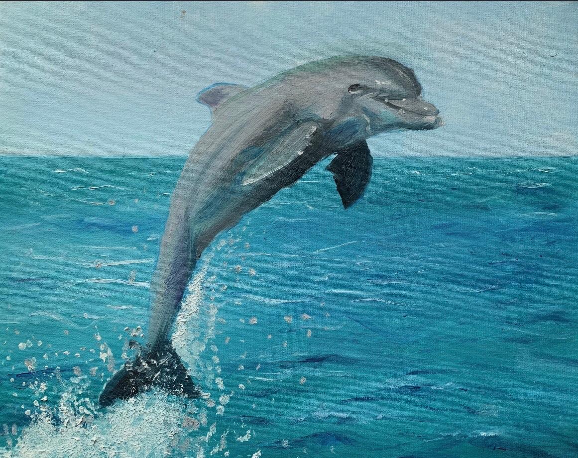 Maria Feldo, 11 lat, skaczący delfin,Zespół Państwowych Szkół Muzycznych nr 4