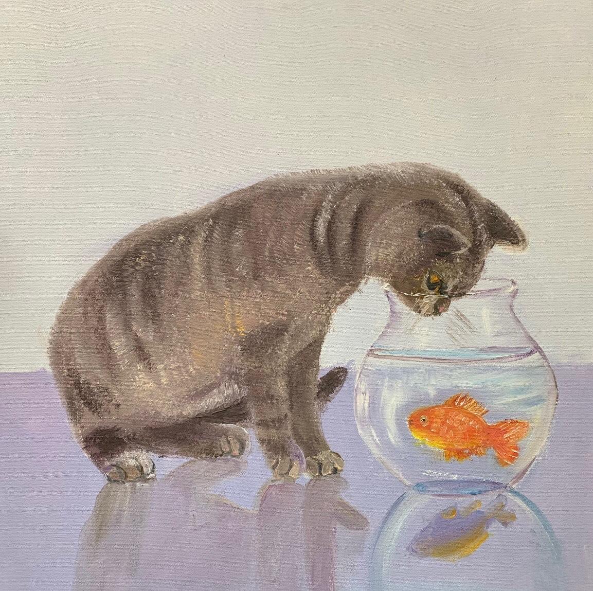 Maria Feldo, 11 lat, Mój kot pieszczoch, Zespół Państwowych Szkół Muzycznych nr 4