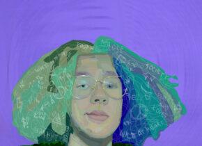 Kosma Mamiński,  Autportret