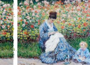 Pola Sztuk, Domalowany ogród wg Moneta
